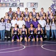 Manzano Wrestling 2014-15 District Champions