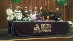 Charles Countee Signs Letter of Intent to Eastern New Mexico University